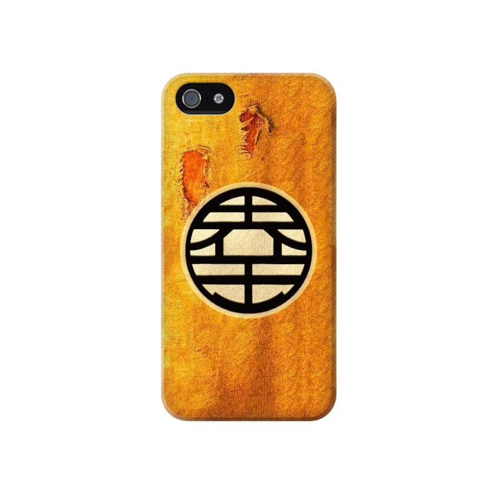 Printed DragonBall Z Goku Kame Symbol Iphone 4 Case