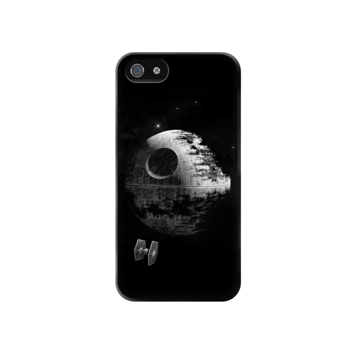 Printed Star Aircraft Planet Iphone 4 Case
