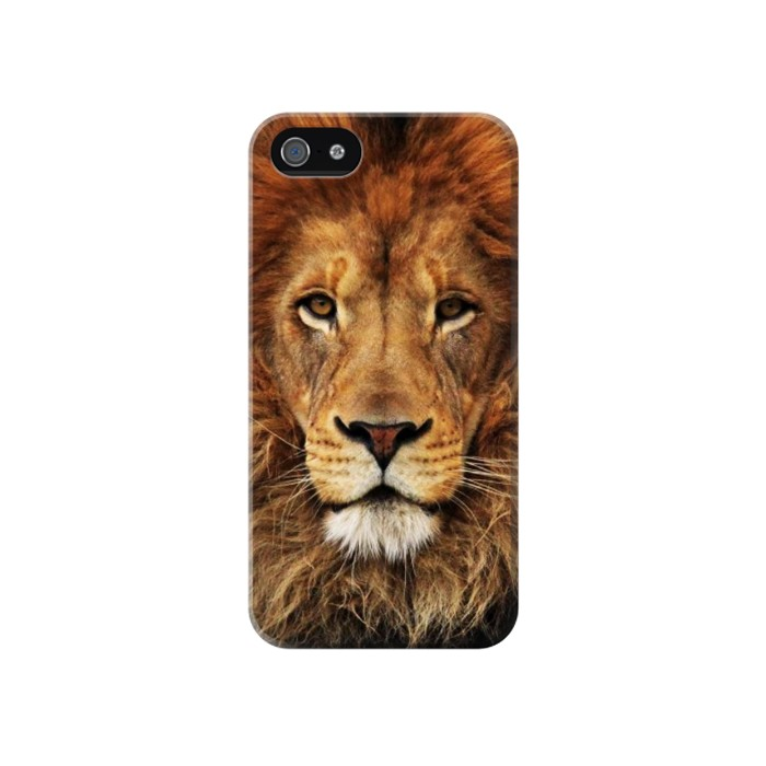 Printed Lion King of Beasts Iphone 4 Case