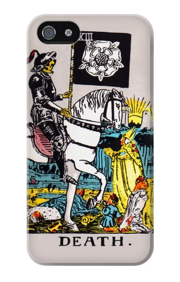 Printed Tarot Card Death Iphone 4 Case