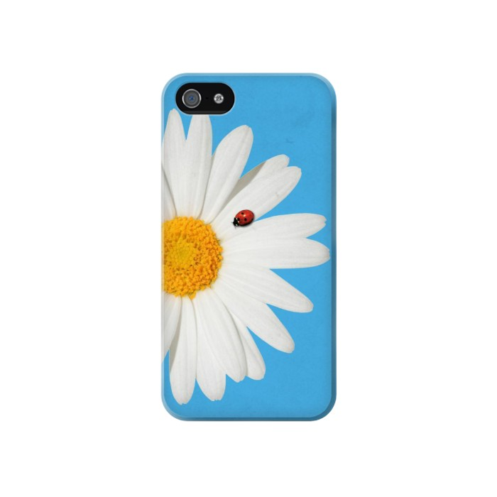 Printed Vintage Daisy Lady Bug Iphone 4 Case