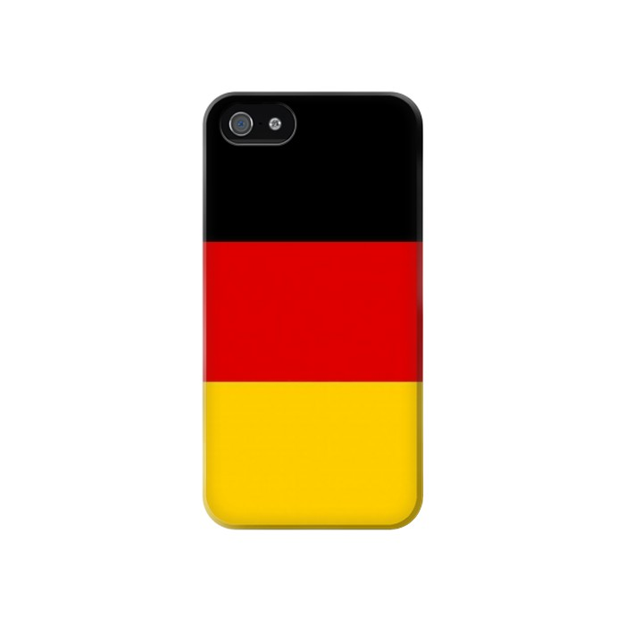 Printed Flag of Germany Iphone 4 Case