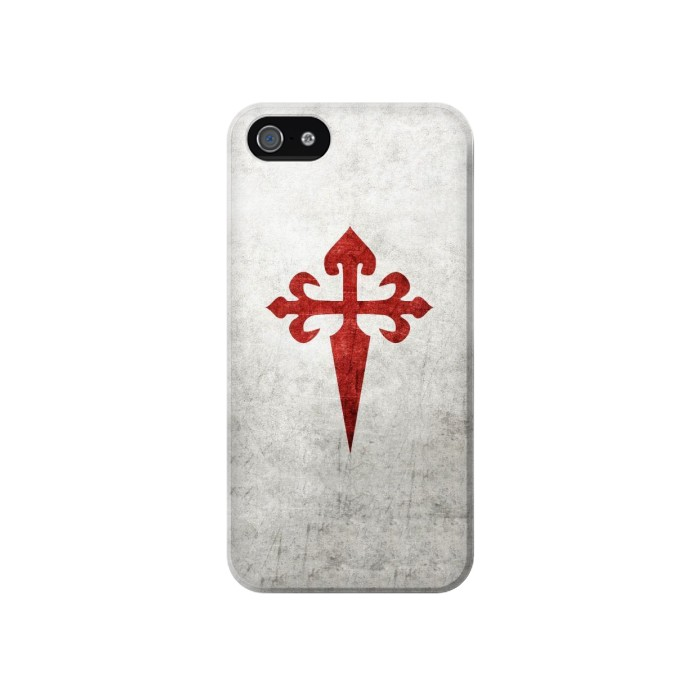 Printed Order of Santiago Cross of Saint James Iphone 4 Case