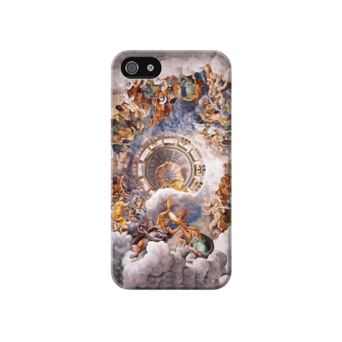 Printed The Assembly of Gods Iphone 4 Case