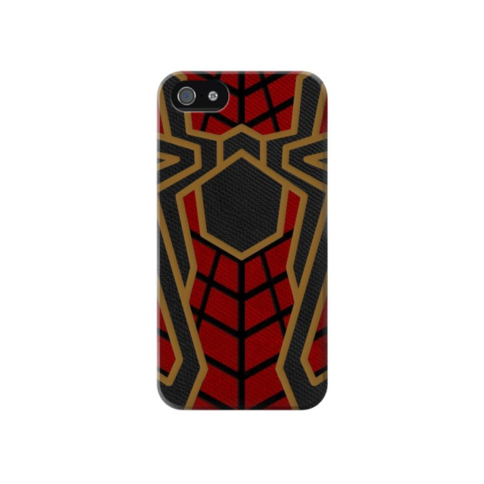Printed Spiderman Inspired Costume Iphone 4 Case
