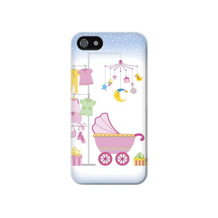 Printed Baby Supplies Iphone 4 Case