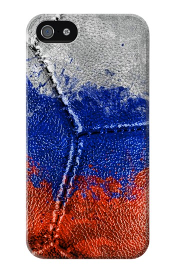 Printed Russia Flag Vintage Football 2018 Iphone 4 Case