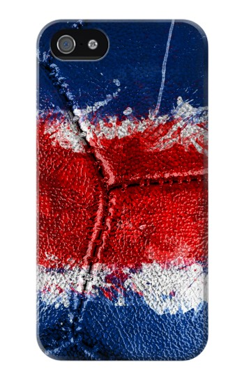 Printed Costa Rica Flag Vintage Football 2018 Iphone 4 Case