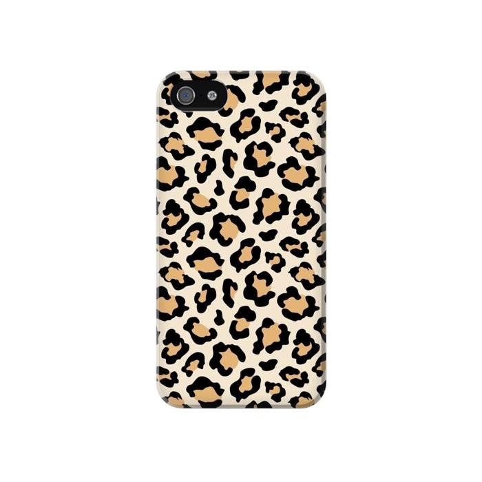 Printed Fashionable Leopard Seamless Pattern Iphone 4 Case