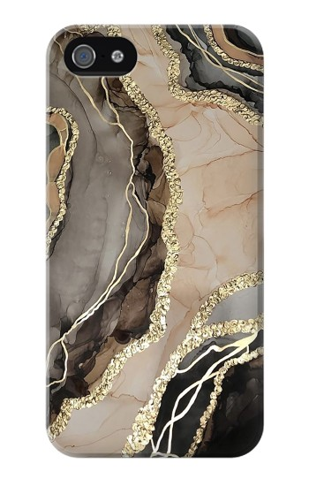 Printed Marble Gold Graphic Printed Iphone 4 Case
