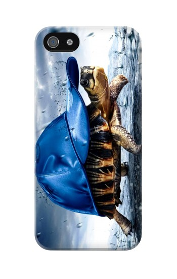 Printed Turtle in the Rain Iphone 5 Case