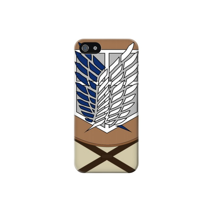 Printed Attack on Titan Survey Corps Uniform Iphone 5 Case