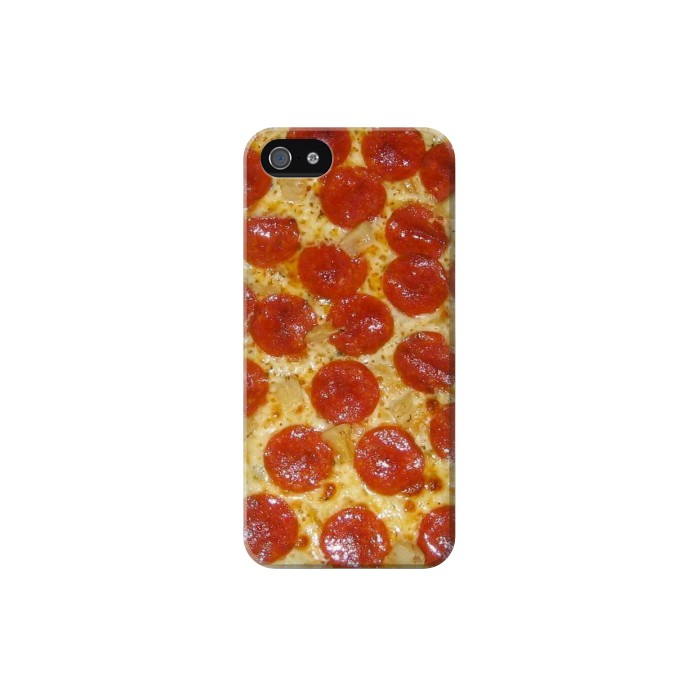Printed Pizza Iphone 5 Case