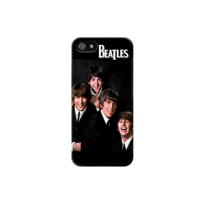 Printed The Beatles Iphone 5 Case