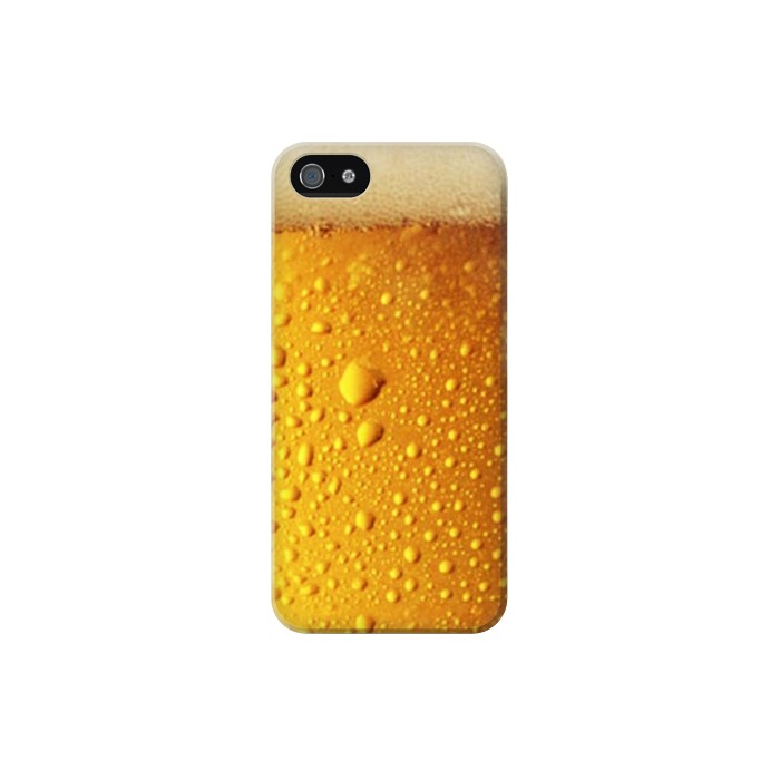 Printed Beer Glass Iphone 5 Case