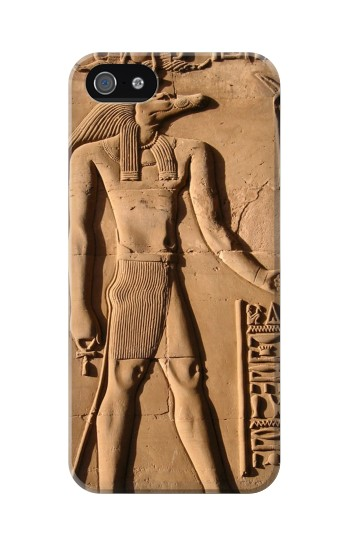 Printed Egyptian Anubis Iphone 5 Case