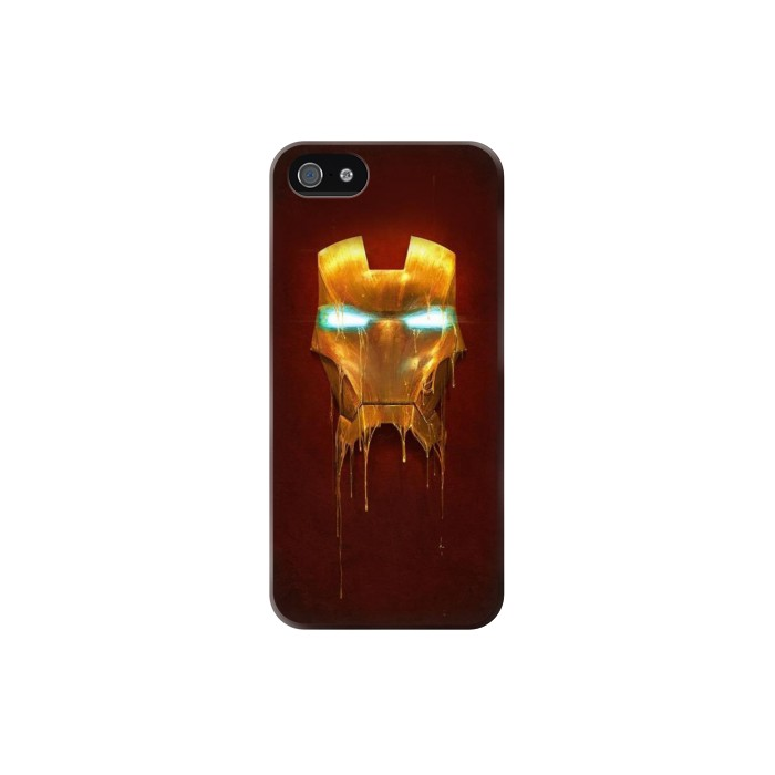 Printed Ironman Mask Iphone 5 Case