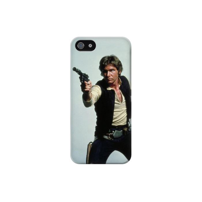 Printed Han Solo Iphone 5 Case