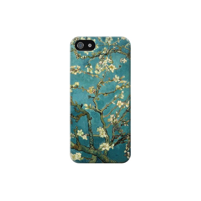 Printed Blossoming Almond Tree Van Gogh Iphone 5 Case