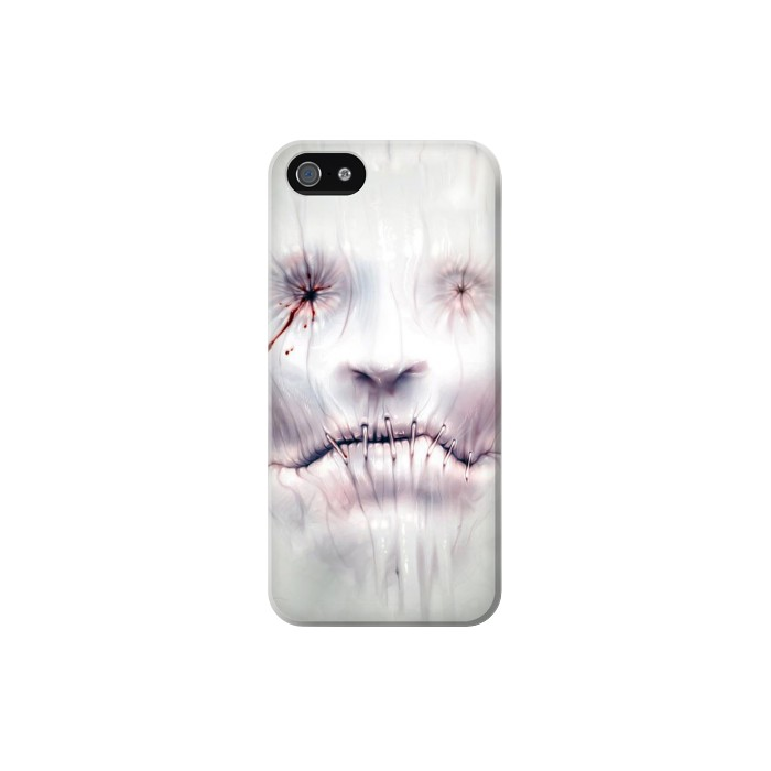 Printed Horror Face Iphone 5 Case