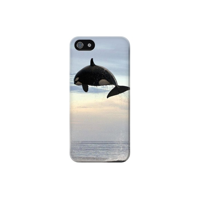 Printed Killer whale Orca Iphone 5 Case