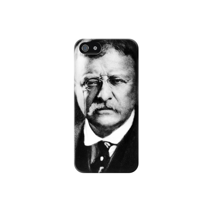 Printed Theodore Roosevelt Iphone 5 Case