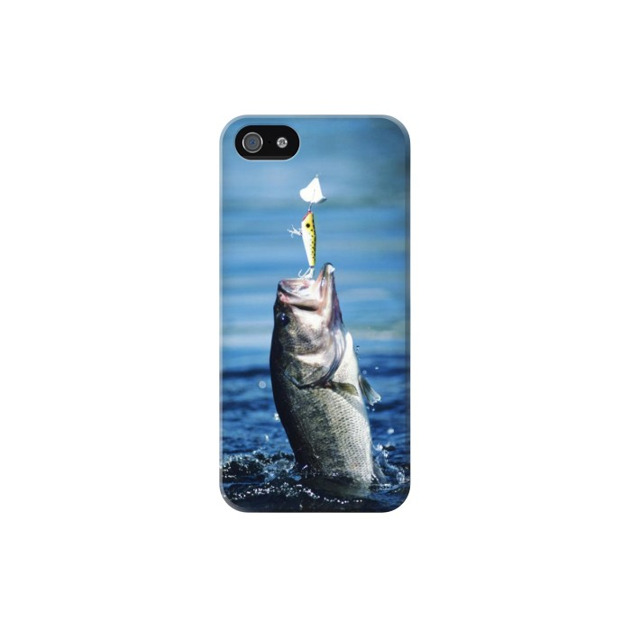 Printed Bass Fishing Iphone 5 Case
