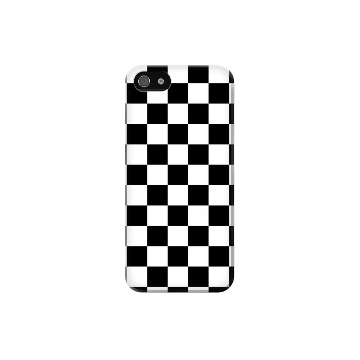 Printed Checkerboard Chess Board Iphone 5 Case