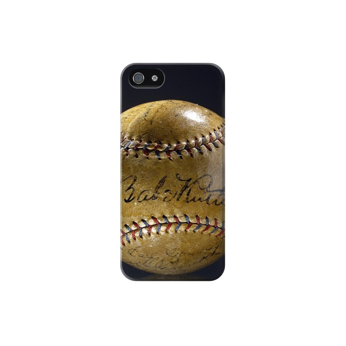 Printed Babe Ruth Baseball Autographed Iphone 5 Case