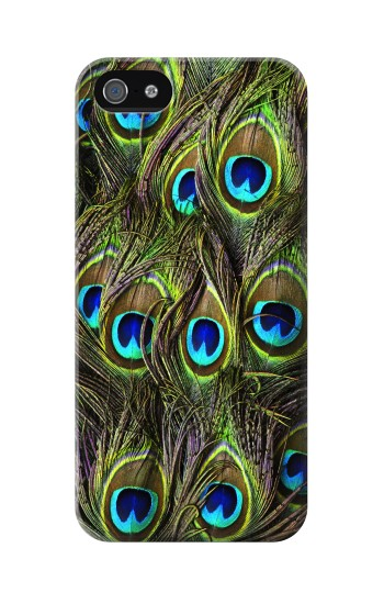 Printed Peacock Feather Iphone 5 Case