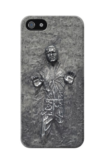 Printed Han Solo in Carbonite Iphone 5 Case