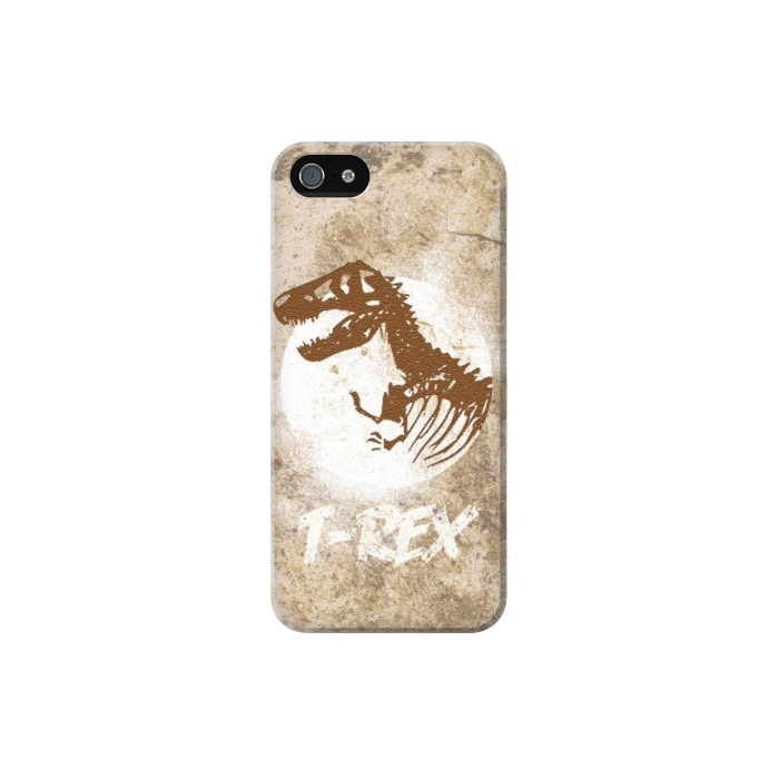 Printed T-Rex Jurassic Fossil Iphone 5 Case