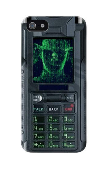 Printed The Matrix Mobile Phone Graphic Printed Iphone 5 Case