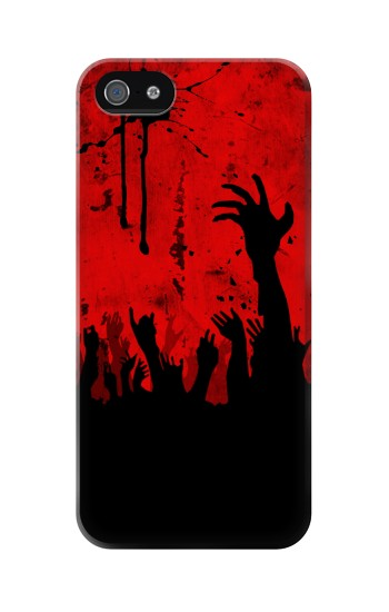 Printed Zombie Hands Iphone 5 Case