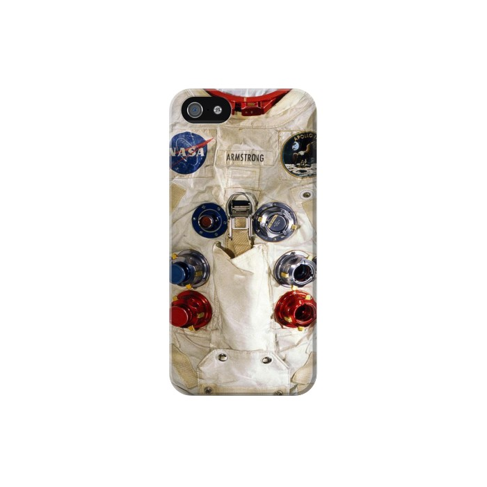 Printed Neil Armstrong White Astronaut Spacesuit Iphone 5 Case