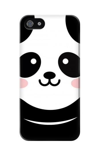 Printed Cute Panda Cartoon Iphone 5 Case