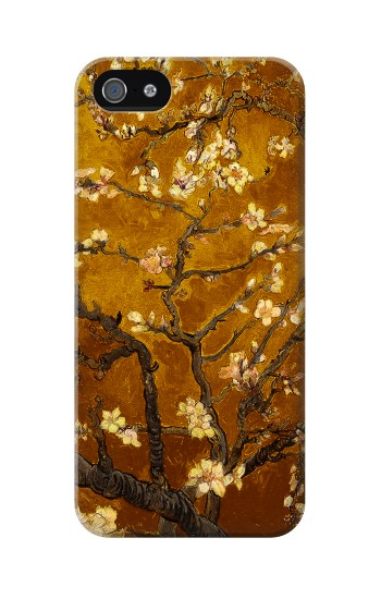 Printed Yellow Blossoming Almond Tree Van Gogh Iphone 5 Case
