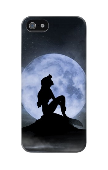 Printed Mermaid Moon Night Iphone 5 Case