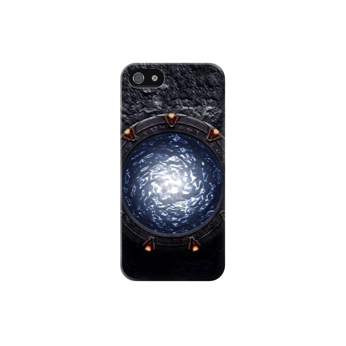 Printed The Stargate Orokin Portal Iphone 5 Case