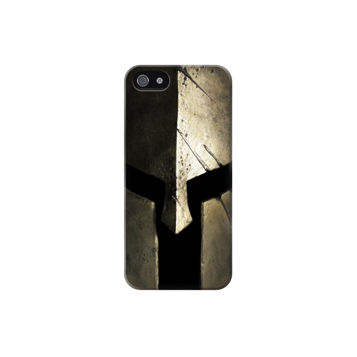 Printed Spartan Helmet Iphone 5 Case