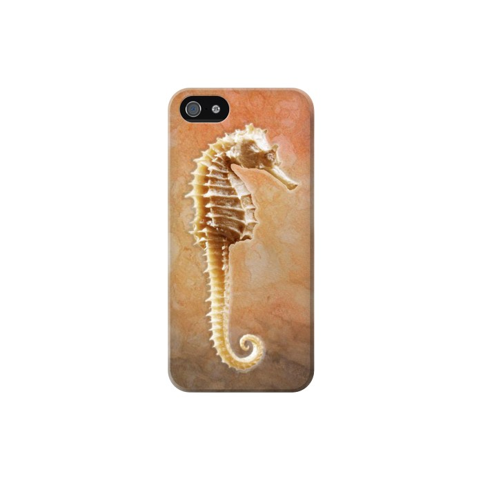 Printed Seahorse Skeleton Iphone 5 Case