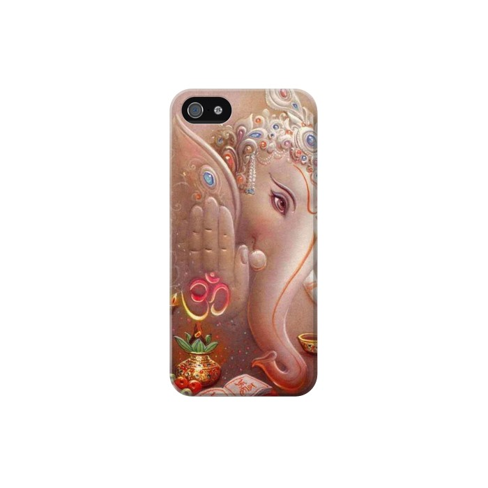 Printed God Ganesha Lord Of Success Iphone 5 Case
