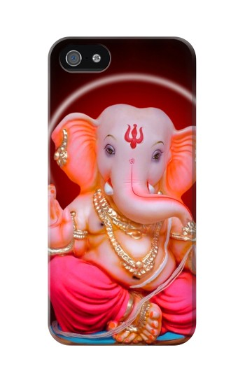 Printed Ganapati God Ganesha Lord Of Success Iphone 5 Case