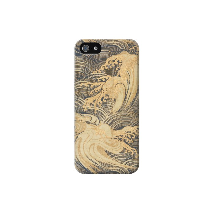 Printed Obi With Stylized Waves Iphone 5 Case