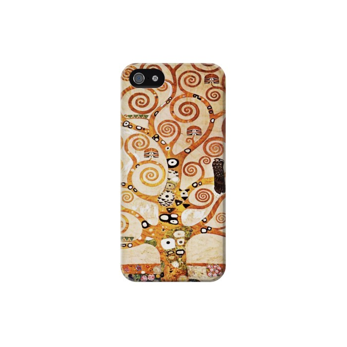 Printed The Tree of Life Gustav Klimt Iphone 5 Case