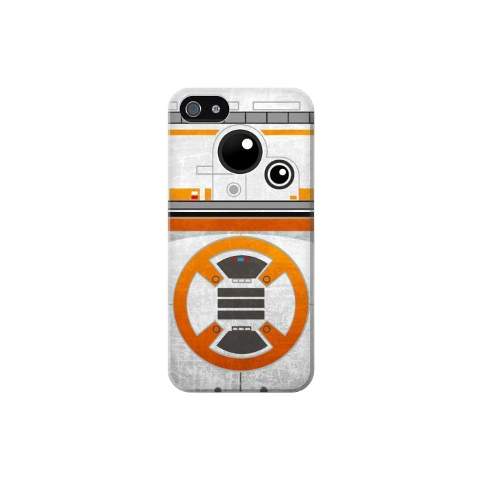Printed BB-8 Rolling Droid Minimalist Iphone 5 Case