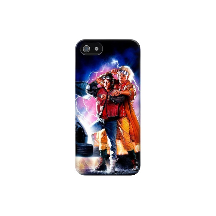 Printed Back to the Future Iphone 5 Case