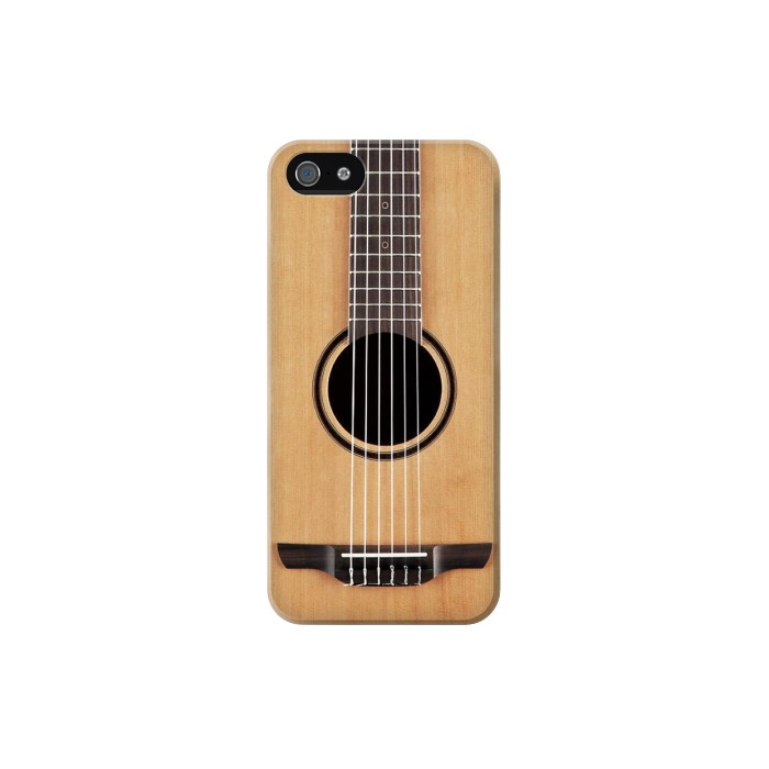 Printed Classical Guitar Iphone 5 Case