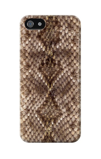 Printed Rattle Snake Skin Iphone 5 Case