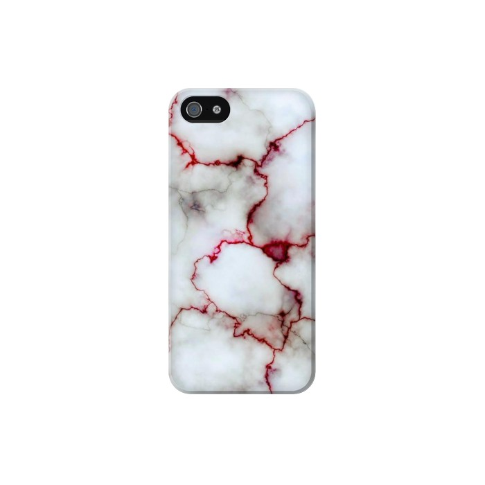 Printed Bloody Marble Iphone 5 Case